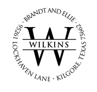 Wilkins Personalized Self-Inking Address Stamp