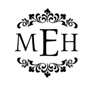 Floral Personalized Self-Inking Monogram Stamp (TD6678)