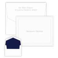 Constant Elegance Fold Notes - Embossed Stationery - 50 Notes/Set (EG2362)