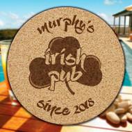 Irish Pub Cork Coasters - 6/Set (EG9218