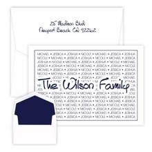 Family Pride Oversized Fold Notes - Raised Ink - 25/Set (EG4260 / EGX4260)