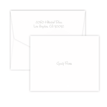 All American Historical Fold Notes - Embossed - 25/Set (EG2360) - Font L01