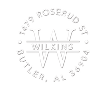 Wilkins Personalized Embossing Set (TD6028)