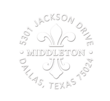 Middleton Personalized Address Embossing Set (TD6980)