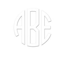 Circular Personalized Monogram Embossing Set (TD6034)