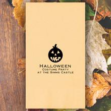 Halloween Guest Towel Napkins - Foil Pressed - 100/Box (EG2250)