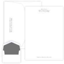 Personalized Serif Raised Ink Letter Sheets - 50/Set (EG1131)