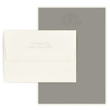 "Personalized Embossed Letter Sheet Envelopes ONLY for 6.2"" x 9"" stock - 50/Set"