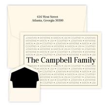 Presto Family Pride Oversized Fold Notes - Raised Ink - 25/Set (EG4261)