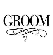 Bridal Luxe Groom - Stamp Clip (TD3002)