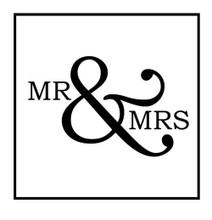 Bridal Mr and Mrs - Stamp Clip (TD3009)
