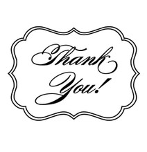 Bridal Thank you! - Stamp Clip (TD3011)