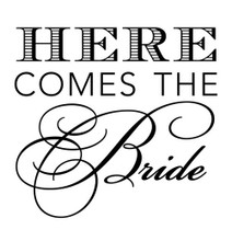Here Comes The Bride - Stamp Clip (TD3012)
