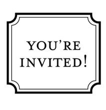 You're Invited! - Stamp Clip (TD3014)