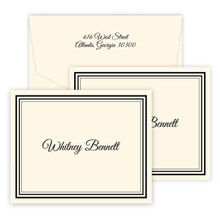 Colony Personalized Fold Notes - Raised Ink Stationery (EG8076)