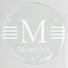 Malibu Glass Coasters - 4/Set (EG9206)