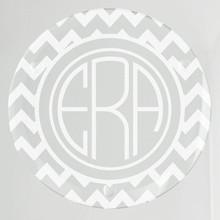 Wilshire Monogram & Design Glass Coasters - 4/Set (EG9210)