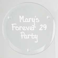 Occasion Glass Coasters - 4/Set (EG9213)