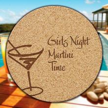 Martini Cork Coasters - 6/Set (EG9219)