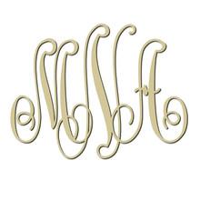 Classic Monogram Engraved Wall Sign (EG9300)