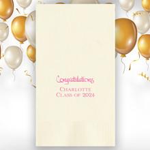 Celebration Personalized Guest Towels - Foil Pressed - 100/Set | StationeryXpress.com | NX123