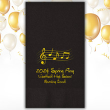 Passion Personalized Guest Towels - Foil Pressed - 100/Set | Stationeryxpress.com | NX132