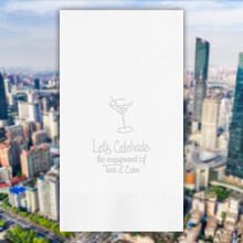 Times Square Personalized Guest Towels - Embossed - 100/Set | StationeryXpress.com | NX190