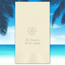 Summertime Personalized Guest Towels - Embossed - 100/Set | StationeryXpress.com NX130