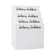 Xpress 4-Tablet Set (Same Width) - White - 10 Lettering Styles (EG6523)