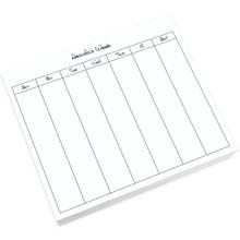 Organize by Week Large Notepad - White (250 Sheets) (EG2060)