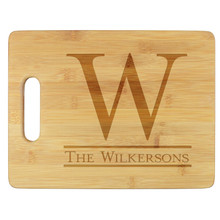 Boston Personalized Cutting Board - Engraved (EG4011)