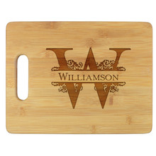 Williamson Personalized Cutting Board - Engraved (EG4013)