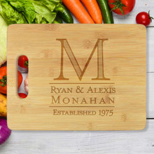 Established Personalized Cutting Board - Engraved (EG4015)