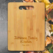 Family Personalized Cutting Board - Engraved (EG4018)