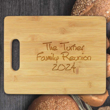 Occasion Personalized Cutting Board - Engraved (EG4022)