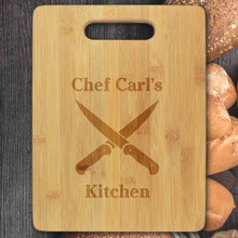 Master Chef Personalized Cutting Board - Engraved (EG4023)