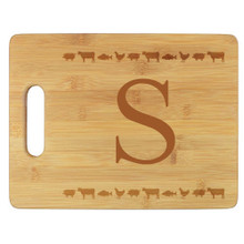 The Farm Personalized Cutting Board - Engraved (EG4025)