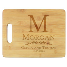 Couples Personalized Cutting Board - Engraved (EG4026)