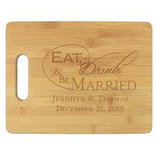 Wedding Personalized Cutting Board - Engraved (EG4027)