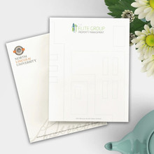 "Personalized Business Letterhead - Value Full Color Sheets - 8.5"" x 11"" (NT5500)"