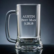 Family Beer Mug - Personalized Drinkware - 10 Fonts (EG9418)