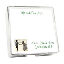 Custom Image Memo Square with Holder - 275 Sheets (EG9024)
