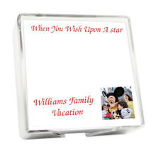 Custom Family Photo Memo Square with Holder - 275 Sheets (EG9025)