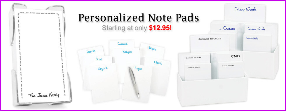 Personalized & Custom Notepads by StationeryXpress