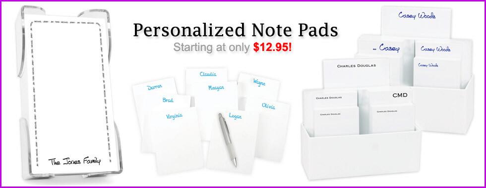 Personalized & Custom Notepads by StationeryXpress
