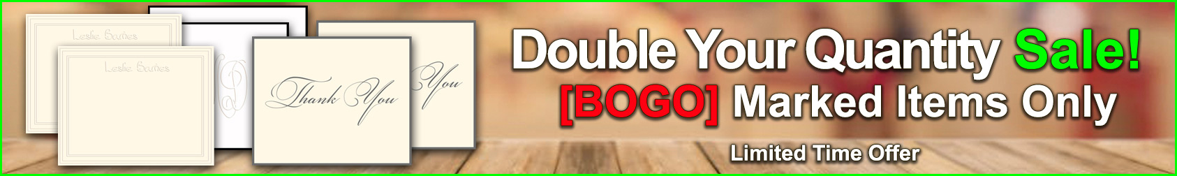 Double Your Quantity Sale at StationeryXpress