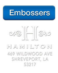 Personalized Embossers at StationeryXpress, brought to you by Three Designing Women