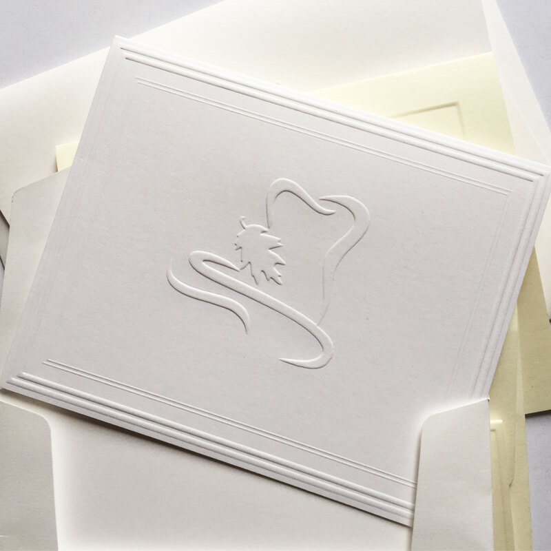 Your Logo Embossed Corporate Personalized Stationery | StationeryXpress