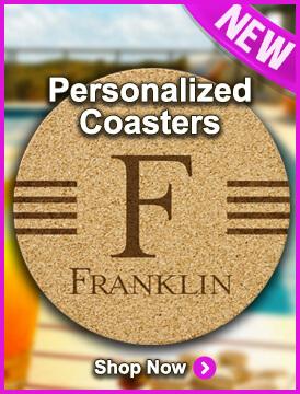 New Personalized Coasters at StationeryXpress