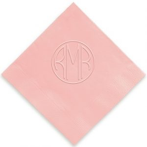Personalized Monogram Napkins